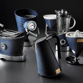 Бытовые приборы Bugatti в исполнении Denim,  отделка джинса