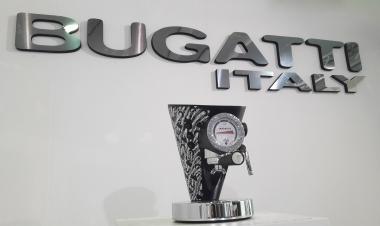 Bugatti Кофемашина DIVA 2300 Silver Swarovski