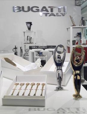Bugatti Набор из 6-ти ложек мока PORTA FORTUNA Gold DR-050A08/6