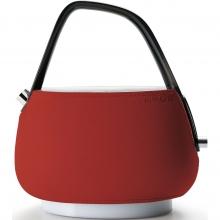 Чайник электрический Bugatti JACQUELINE Leather Red