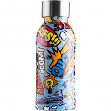 Bugatti Бутылка для воды Bottle TWIN Comics BBT-CO350IS