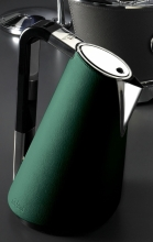 Чайник электрический Bugatti VERA Leather Green